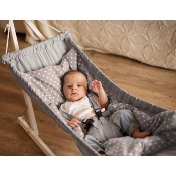 Hammock for babies KOALA, Silver